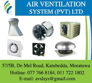 Air Ventilation Systems (Pvt) Ltd