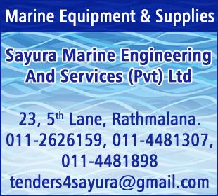 Sayura Marine Engineering And Services (Pvt) Ltd