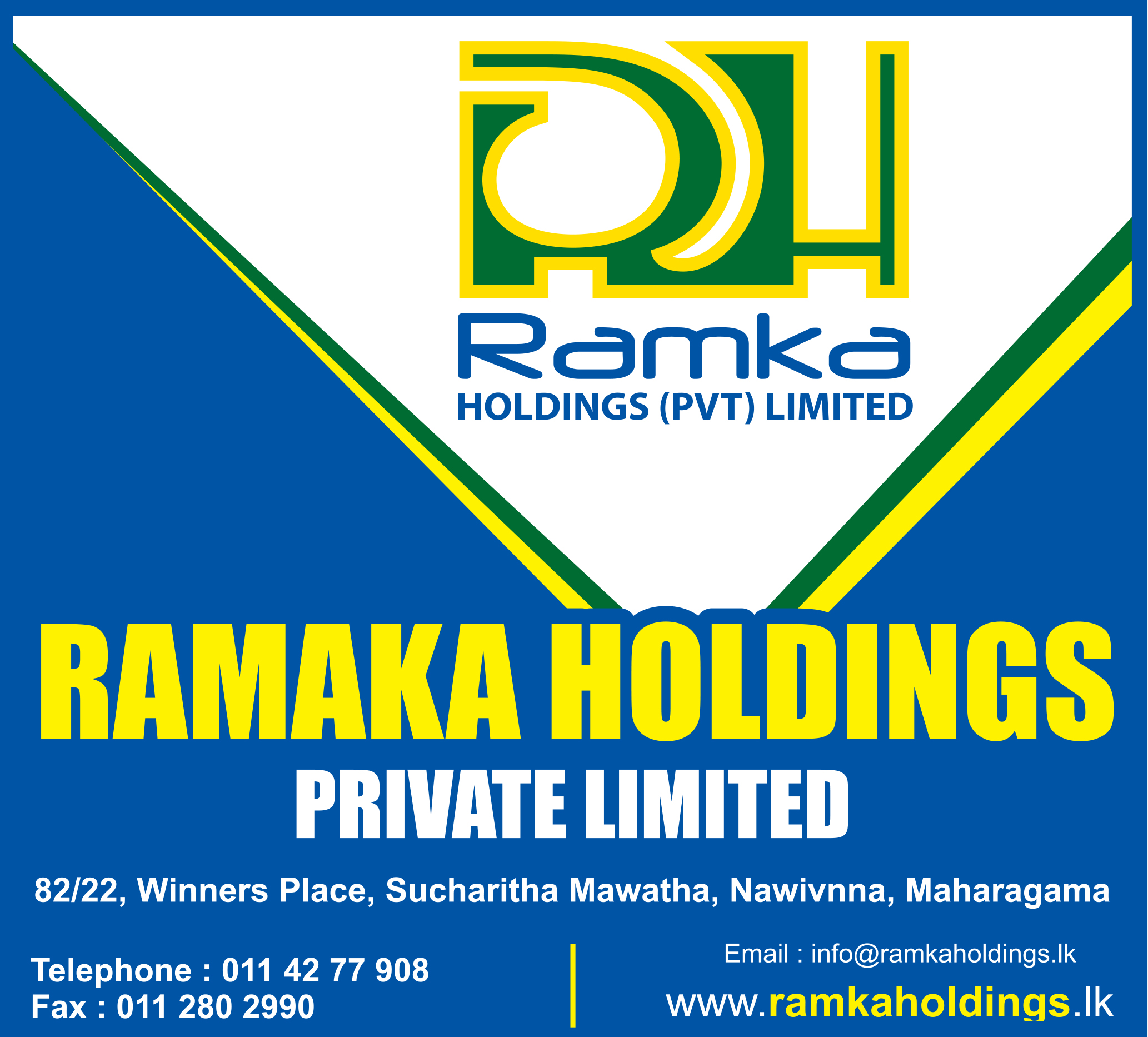 Ramka Holdings (Pvt) Ltd