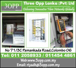 Three Opp Lanka (Pvt) Ltd