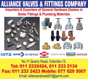 Stainless Steel - Ad 01 - Alliance Valves