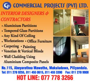 Interior Decorators & Designers - Ad 03 - Commercial Projects