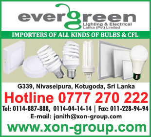 Bulbs & CFLs - Ad 02 - Evergreen Lighting Electrical Lanka Bulbs CFL