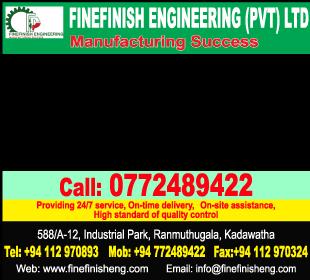 Engineering Work - Ad 01 - Fine Finish Engineering
