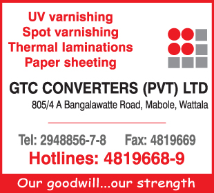 Laminating - Ad 01 - GTC Converters paper Printing Suppliers