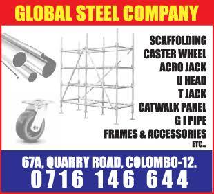 Scaffoldings - Ad 02 - Global steel company