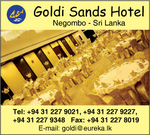 Reception Halls - Ad 03 - Goldi Sands Hotels