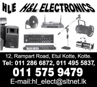 Audio Visual Equipment & Supplies - Ad 02 - HL Electronics