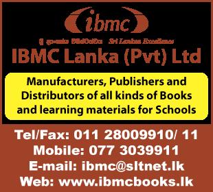 Book Dealers - Wholesale & Retail - Ad 01 - Ibmc Lanka