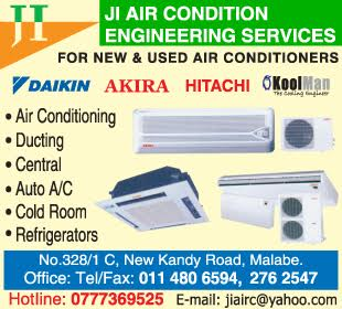Air Conditioning Equipment & Systems - Ad 01 - JI Aircondition Engineering Services