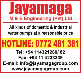 Pumps- Ad 03 - Jayamaga ME Engineering