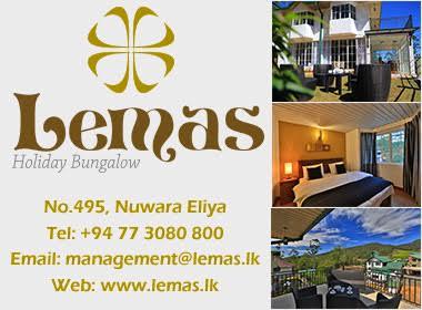 Hotel NuwaraEliya - Ad 01 - Leemas Holiday
