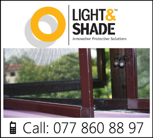 Mosquito Screens - Ad02 - Light & Shade