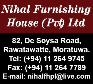 Furniture Dealers - Ad 02 - Nihal Furnishing House