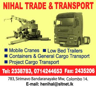 Crane Services - Nihal Trade transport