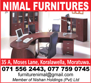 Furniture Manufacturers - Ad 01 - Nimal Furnitures