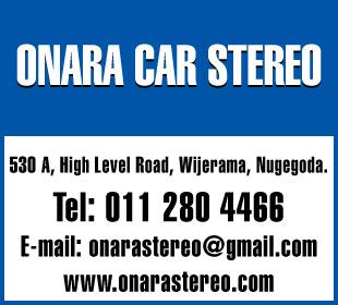 Motorcar Radio & Stereophonic Systems - Ad 02 - Onara Car Stereo