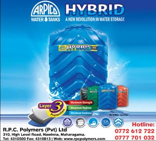 Water Tanks - Ad 01 - R P C Polymers