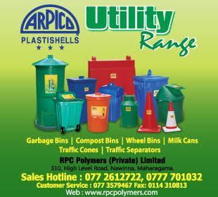 Garbage Bins - Ad 01 - R P C Polymers Garbage