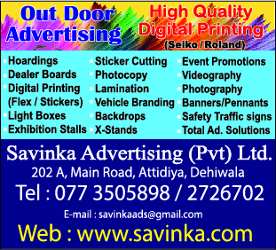 Advertising Agencies & Counsellors - Ad 02 - Savinka Advertising