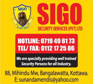 Security Systems Consultants Ad(01) - Sigo-Security-Services-Pvt-Ltd