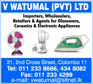 Electric & Electronic Appliances - Ad 02 - V-Watumal Electric