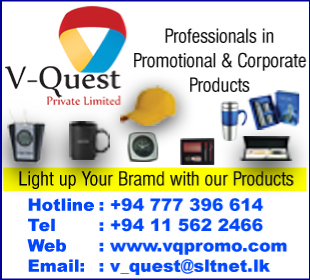 Promotional Items - Ad 02 - V-Quest (Pvt) Ltd