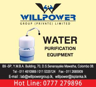 Water Purification & Filtration Equipment - Ad 01 - Willpower Group Water Purification
