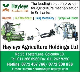 Hayleys Agriculture Holdings Ltd