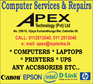 Computer Accessories - Apex Computer Technology (Pvt) Ltd
