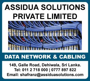 Data Networking & Cabling - Assidua Solutions (Pvt) Ltd