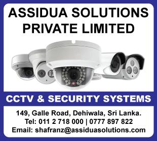 CCTV  - Assidua Solutions (Pvt) Ltd