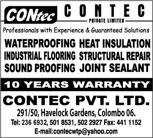 Water Proofing Contractors-Contec