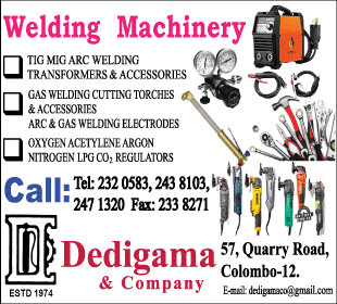 Welding - Dedigama & Co