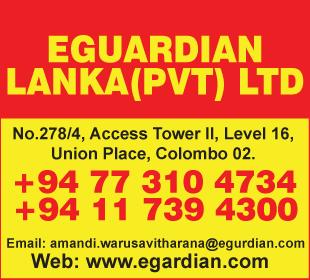 IT - Solutions - EGuardian Lanka (Pvt) Ltd