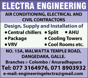 Air Conditioning Contractors - Electra Engineering