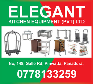 Hotel & Motel Equipment & Supplies - Eleganat Kitchen Equipment (Pvt) Ltd