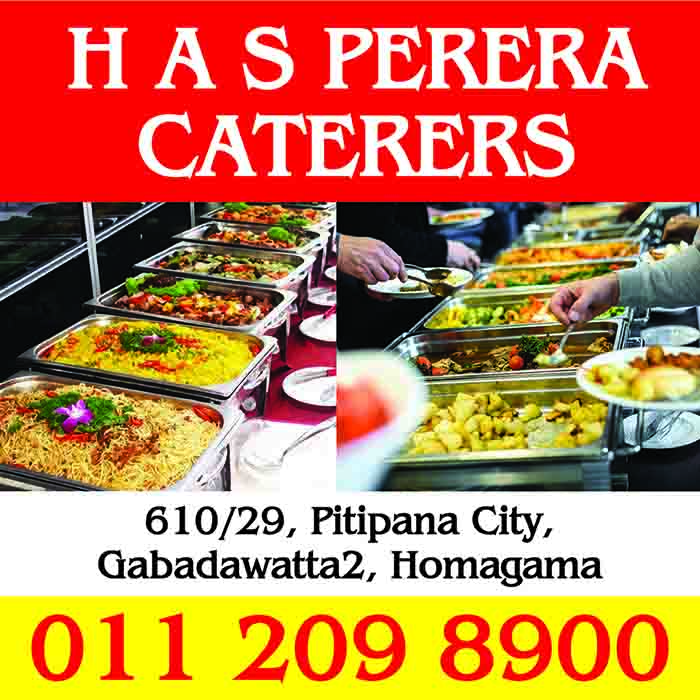 Caterers - H A S Perera Caterers