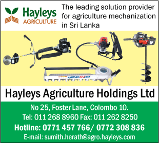 Dairy Equipment & Supplies-Hayleys Agriculture Holdings LTD
