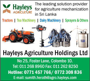 Tea Manufacturing Machinery & Spares-Hayleys Agriculture Holdings LTD