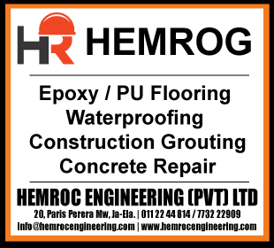 Water Proofing Contractors - Hemroc Engineering (Pvt) Ltd