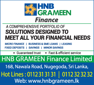 Financing - HNB Grameen Finance