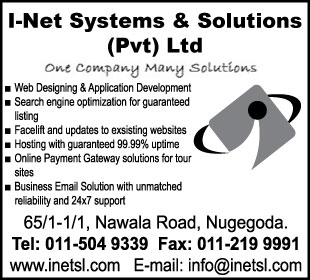 Web Hosting & Developing - I Net Systems & Solutions (Pvt) Ltd