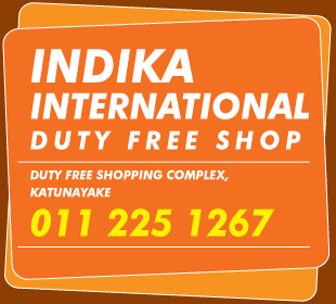 Duty Free Shops - Indika International Duty Free Shop