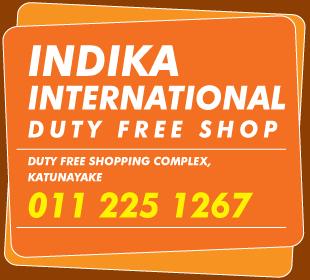 Duty Free Shops - Indika International Duty Free Shop