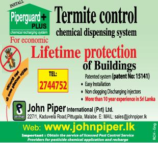 Building Materials - John Piper International (PVT) LTD