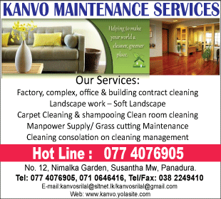 Janitorial Services - Kanvo Maintenance Services