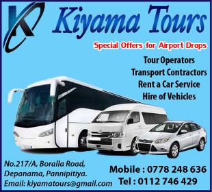 Tour Operators - Kiyama Tours