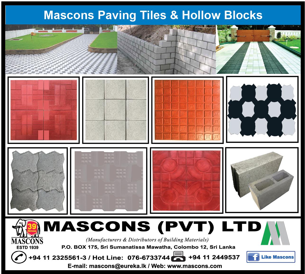 Floor - Materials & Laying - Mascons (Pvt) Ltd