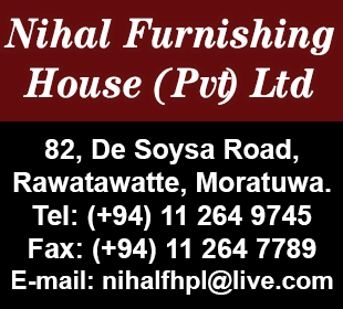 Furniture - Nihal Furnishing House (Pvt) Ltd